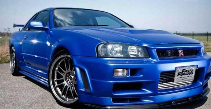 The Nissan Skyline Gt R R34 From Fast And Furious 4 Is