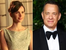 Felicity Jones May Star With Tom Hanks in Film Version of Dan Brown's <i>Inferno</i>