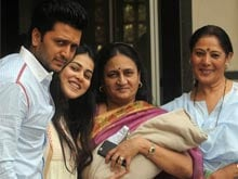 Riteish Deshmukh, Genelia D'Souza Reveal Their Son's Name