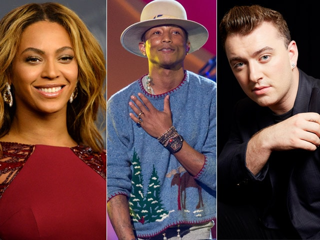 Beyonce, Pharrell Williams, Sam Smith Lead in Grammy Nods