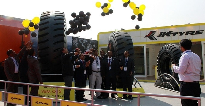 indias biggest tyre from jk tyres
