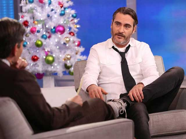 Joaquin Phoenix Tells Letterman He's Engaged. Turns Out, he Was Joking