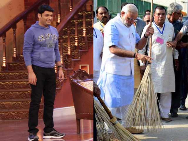 PM Modi Nominates Comedian Kapil Sharma for Swachh Bharat Abhiyaan