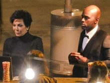 Just-Divorced Kris Jenner Makes Appearance With New Boyfriend