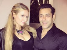 Paris Hilton and Salman Khan Have 'Good Times' at a Party