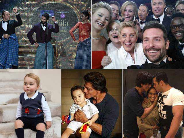 The Year in Pictures: Top 10 Showbiz Photos of 2014