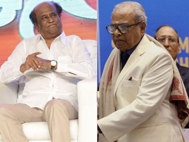 Rajinikanth Pays Tribute To His Guru K Balachander