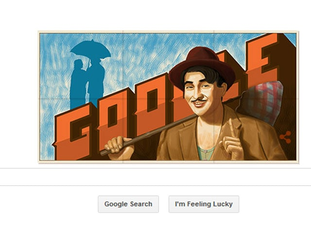 Google Doodle Celebrates Raj Kapoor's 90th Birth Anniversary