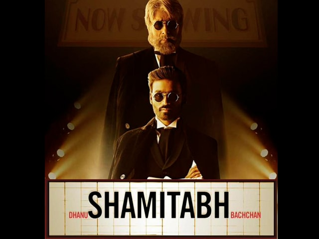 First Look: A Bachchan and a 'Dhanu' Star in Shamitabh