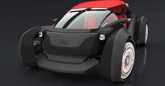 The Strati Is The World's First 3D-Printed Car - NDTV CarAndBike