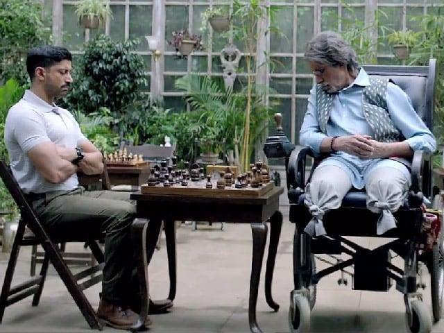 Wazir Teaser: Amitabh Bachchan, Farhan Akhtar and a Deadly Game of Chess