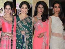Riddhi Malhotra's Wedding: Sridevi, Madhuri, Priyanka, Karisma Wear Manish Malhotra