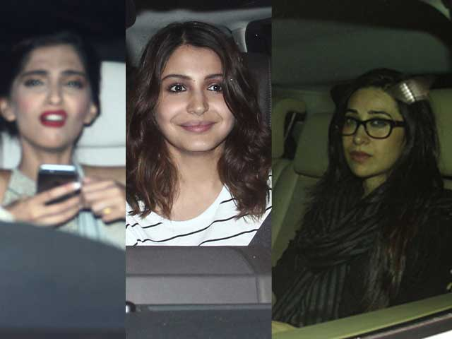 Sonam Kapoor's Dolly Paints the Town Red With a Celebrity Retinue