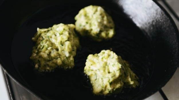 Season's Eating: Zucchini and Dill Fritters Recipe