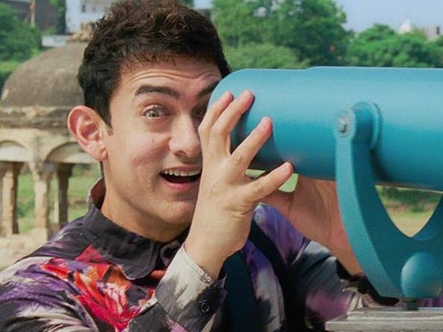 फिल्म पीके में आमिर ख़ान