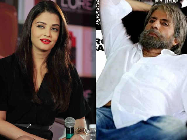 Aishwarya Rai Describes Amitabh Bachchan's Shamitabh Trailer as 'Incredible'