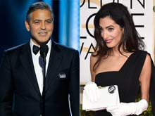 "Golden Globes 2015: ""We Will Not Walk in Fear, Je Suis Charlie,"" Said George Clooney"