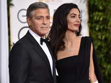 Golden Globes 2015: Amal Alamuddin Makes Red Carpet Debut as Mrs Clooney