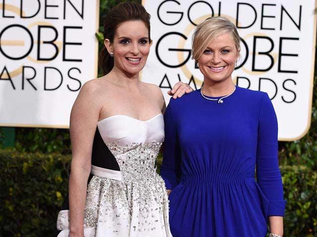 Golden Globes: Amy Poehler and Tina Fey Take on North Korea