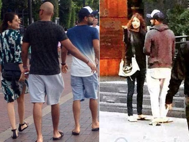 Anushka Sharma, Virat Kohli's Romantic Stroll Through Sydney