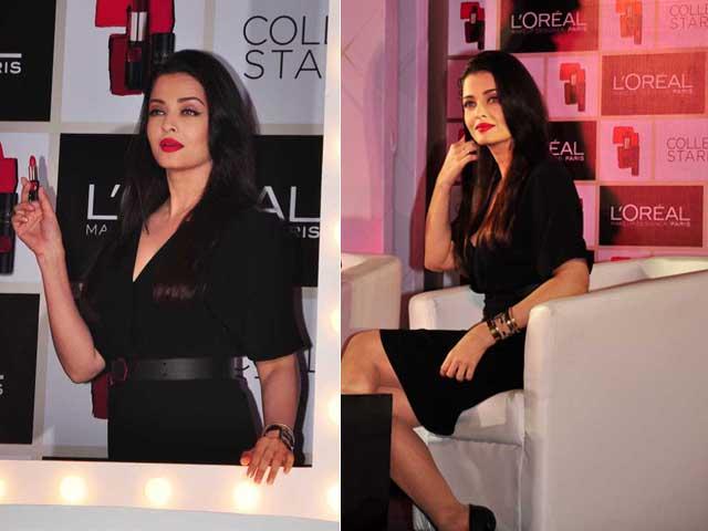 Red Alert: Aishwarya Rai Bachchan's Lips Don't Lie