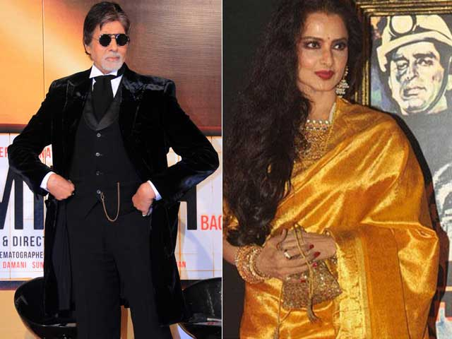 Amitabh Bachchan's Shamitabh Co-Stars Rekha, But They Have No Scenes Together