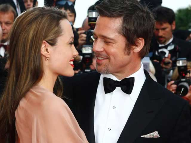 Angelina Jolie Says Marrying Brad Pitt Was an