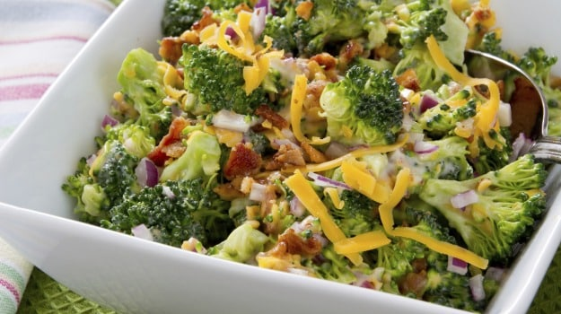 French Broccoli Salad