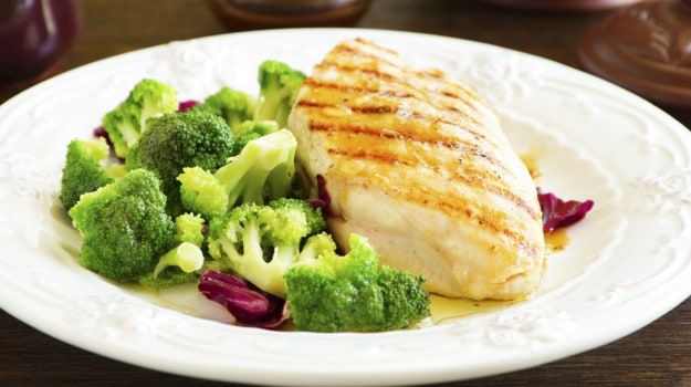Chicken and Chargrilled Broccoli