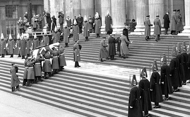 Britain Marks 50 Years Since Former Prime Minister Winston Churchill's Funeral