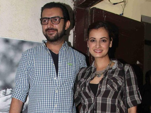 Dia Mirza Makes First Visit to Hometown Hyderabad After Wedding