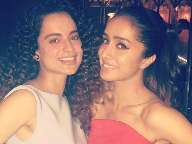Shraddha Kapoor Meets Kangana Ranaut, Tells Her She Loved Queen