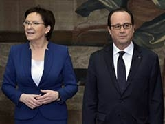 France, Poland Tell Russia to End 'All Support to Separatists'