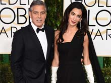Golden Globes Red Carpet: Mr and Mrs George Clooney Get Loudest Cheers