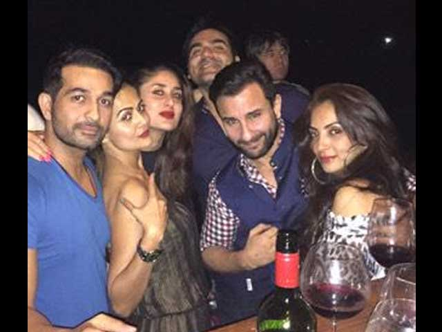 Kareena Kapoor, Saif Ali Khan Recover From Soha's Wedding in Goa