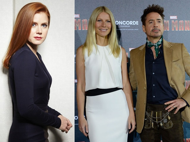 Golden Globes Presenters Include Amy Adams, Gwyneth Paltrow, Robert Downey Jr