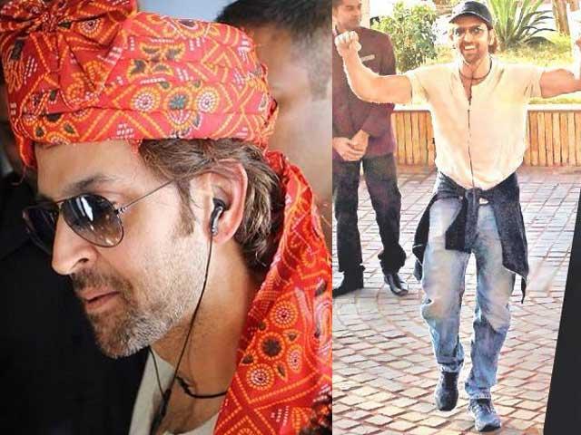 Hrithik Roshan Reaches Bhuj to Begin Mohenjo Daro Shoot