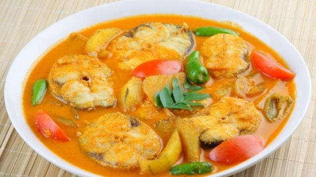 Fish Mappas (Fish curry)