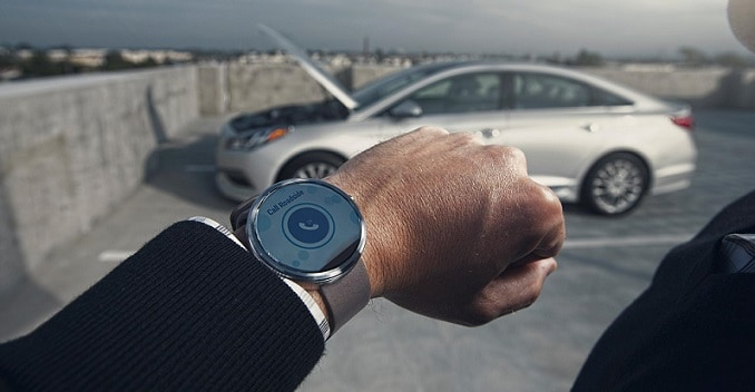 Hyundai's Blue Link Smartwatch App to Help Control the Car Remotely