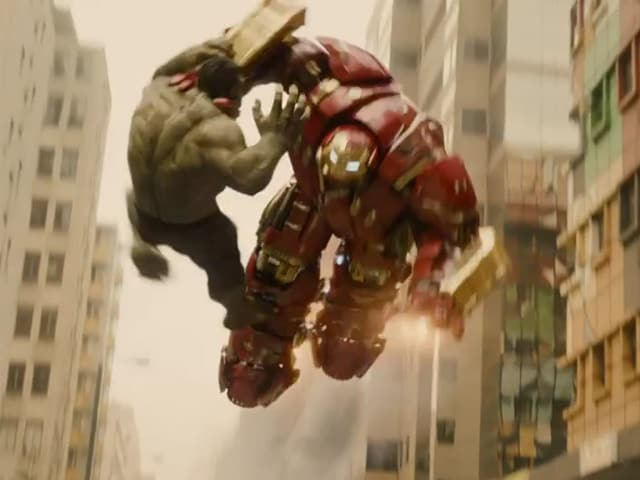 In Avengers: Age of Ultron Trailer, Hulk and Iron Man Make a Mess