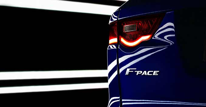 New Jaguar Model Will be F-Pace Crossover