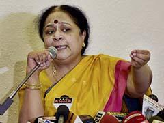 Ex-Minister Jayanthi Natarajan's Chennai Home Raided In Corruption Case