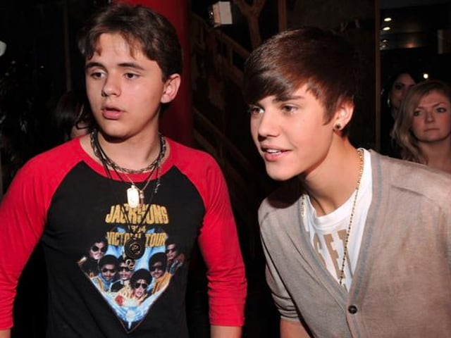 Prince Michael Jackson I is Working on an Album With Justin Bieber