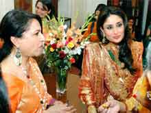 Kareena Kapoor, Sharmila Tagore Prep for Soha Ali Khan's Wedding