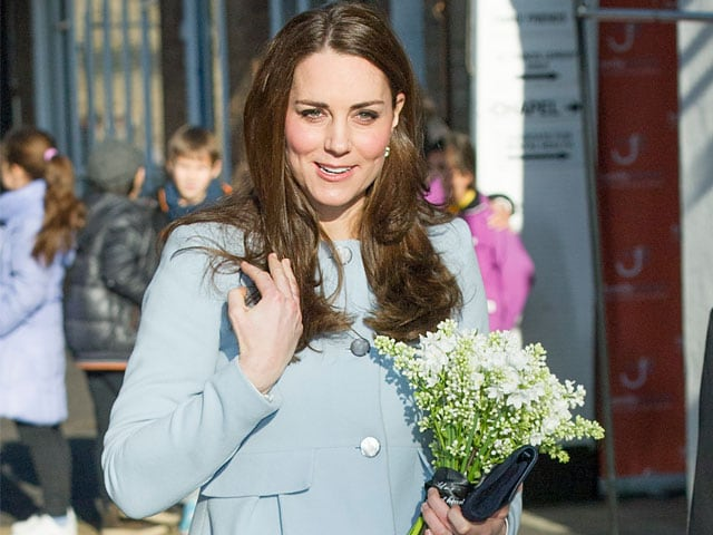 Kate Middleton Says Her Baby Kicks All The Time