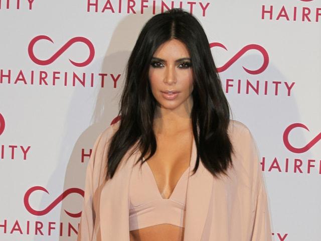 Kim Kardashian Denies Pregnancy Rumours