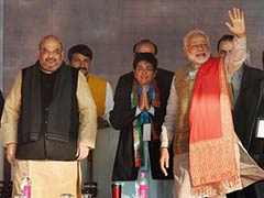 Kiran Bedi Will Take Delhi to New Heights, Says PM Modi at Poll Rally