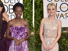 Golden Globes: Lupita N'yongo's Jewellery Becomes Anna Faris' Envy