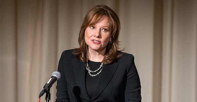 Mary Barra - Crisis Manager of the Year 2014