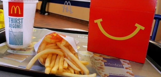 Dental Material Found in McDonald's Burger